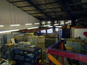 retail shopfitting products ready for dispatch